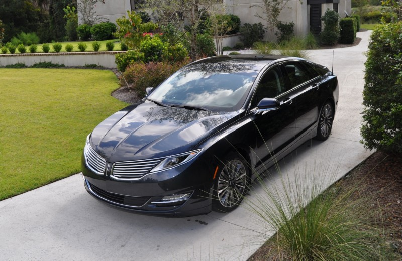 Road Test Review - 2014 Lincoln MKZ 3.7 AWD 95