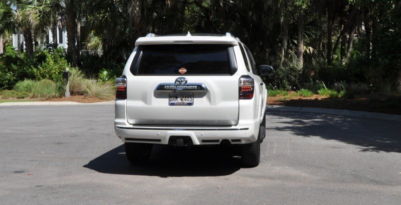 Road Test Review - 2014 Toyota 4Runner Limited 2WD Is Low and Sexy 13
