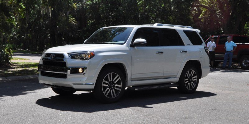 Road Test Review - 2014 Toyota 4Runner Limited 2WD Is Low and Sexy 32
