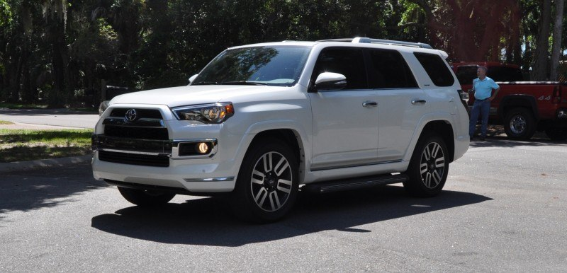 Road Test Review - 2014 Toyota 4Runner Limited 2WD Is Low and Sexy 33