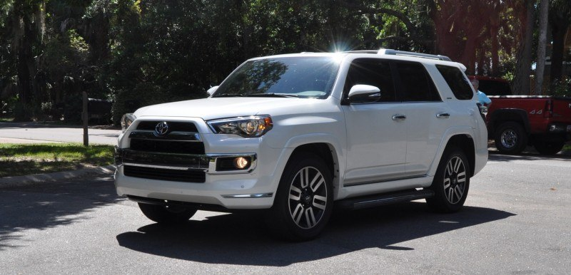 Road Test Review - 2014 Toyota 4Runner Limited 2WD Is Low and Sexy 34