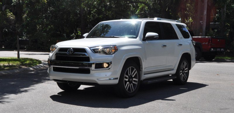 Road Test Review - 2014 Toyota 4Runner Limited 2WD Is Low and Sexy 35