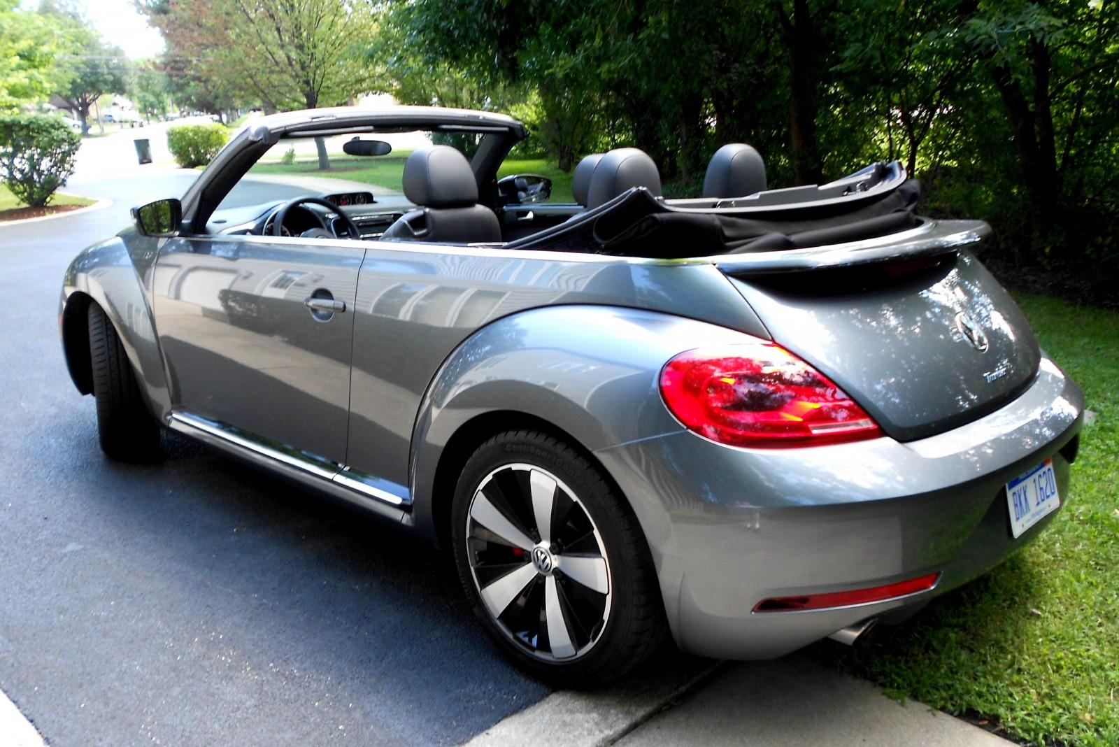 road test review 2014 volkswagen beetle r line convertible 10. Black Bedroom Furniture Sets. Home Design Ideas