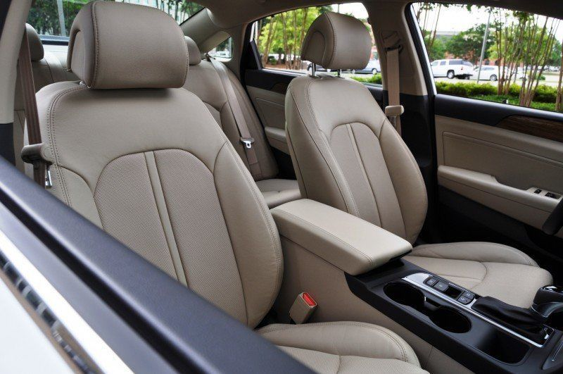 Road Test Review - 2015 Hyundai Sonata - INTERIOR Focus - 2.4L Limited 43