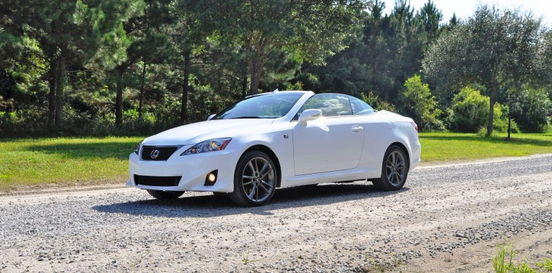 Road Test Review - 2015 Lexus IS350C F Sport 41