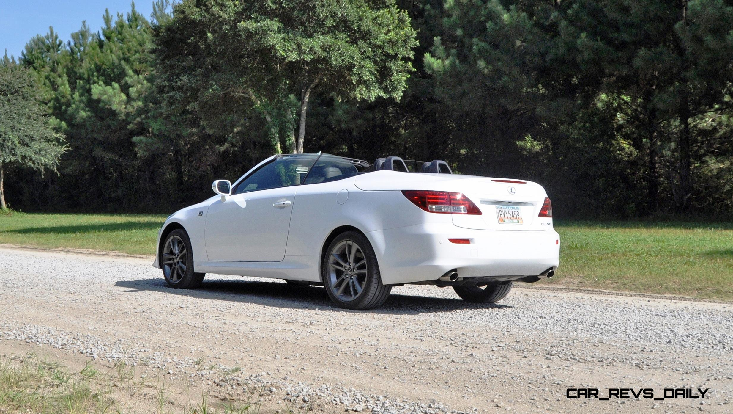 Road Test Review 2017 Lexus Is350c F Sport Convertible Coupe Perfection