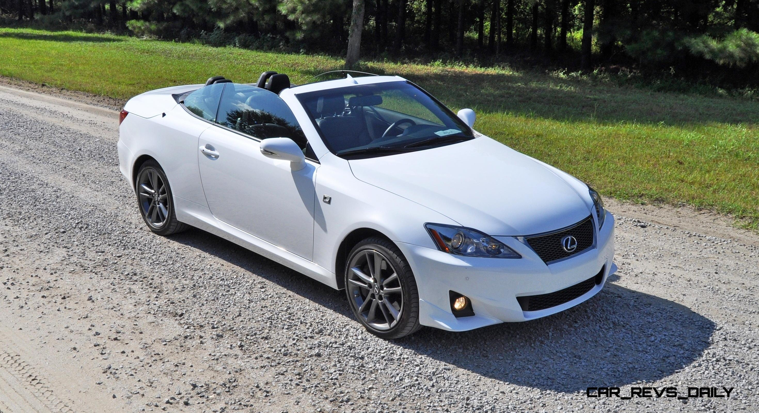 road test review 2014 lexus is350c f sport convertible coupe perfection. Black Bedroom Furniture Sets. Home Design Ideas