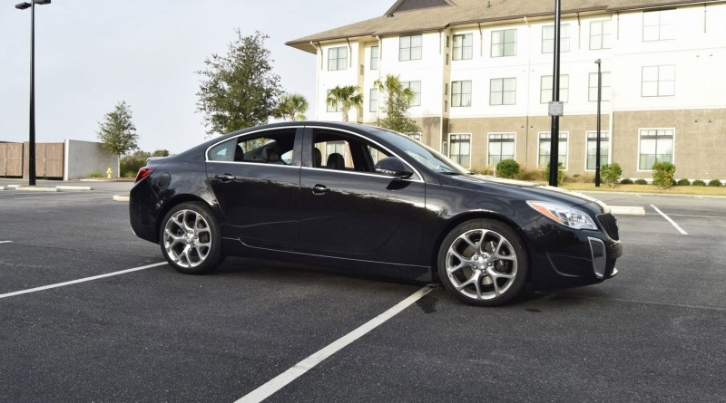 Road Test Review - 2016 Buick REGAL GS 34