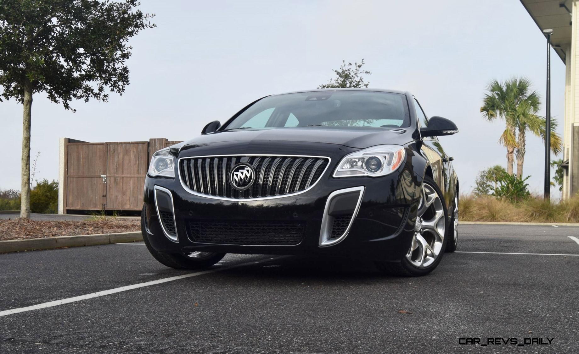 road test review 2016 buick regal gs car revs. Black Bedroom Furniture Sets. Home Design Ideas