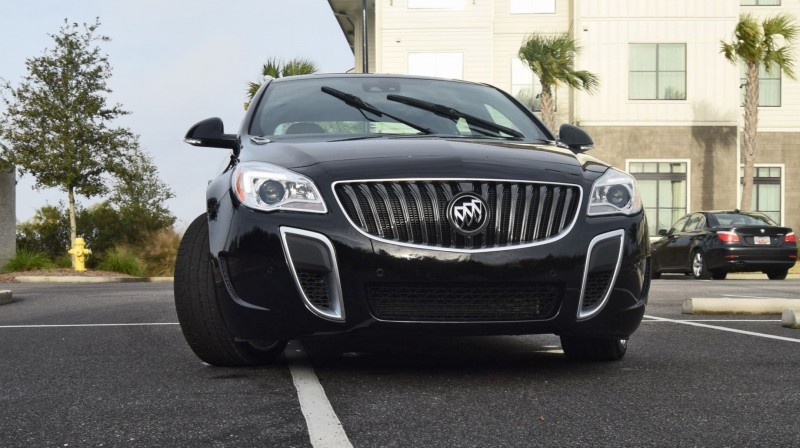 Road Test Review - 2016 Buick REGAL GS 45