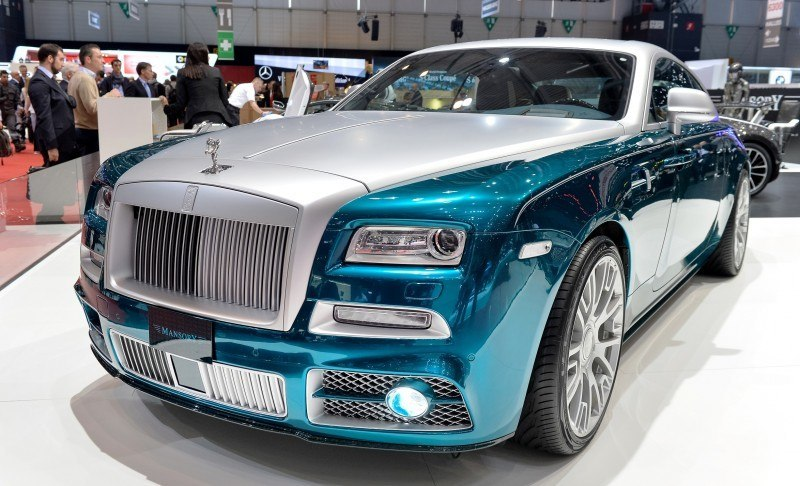 Rolls-Royce Wraith by MANSORY
