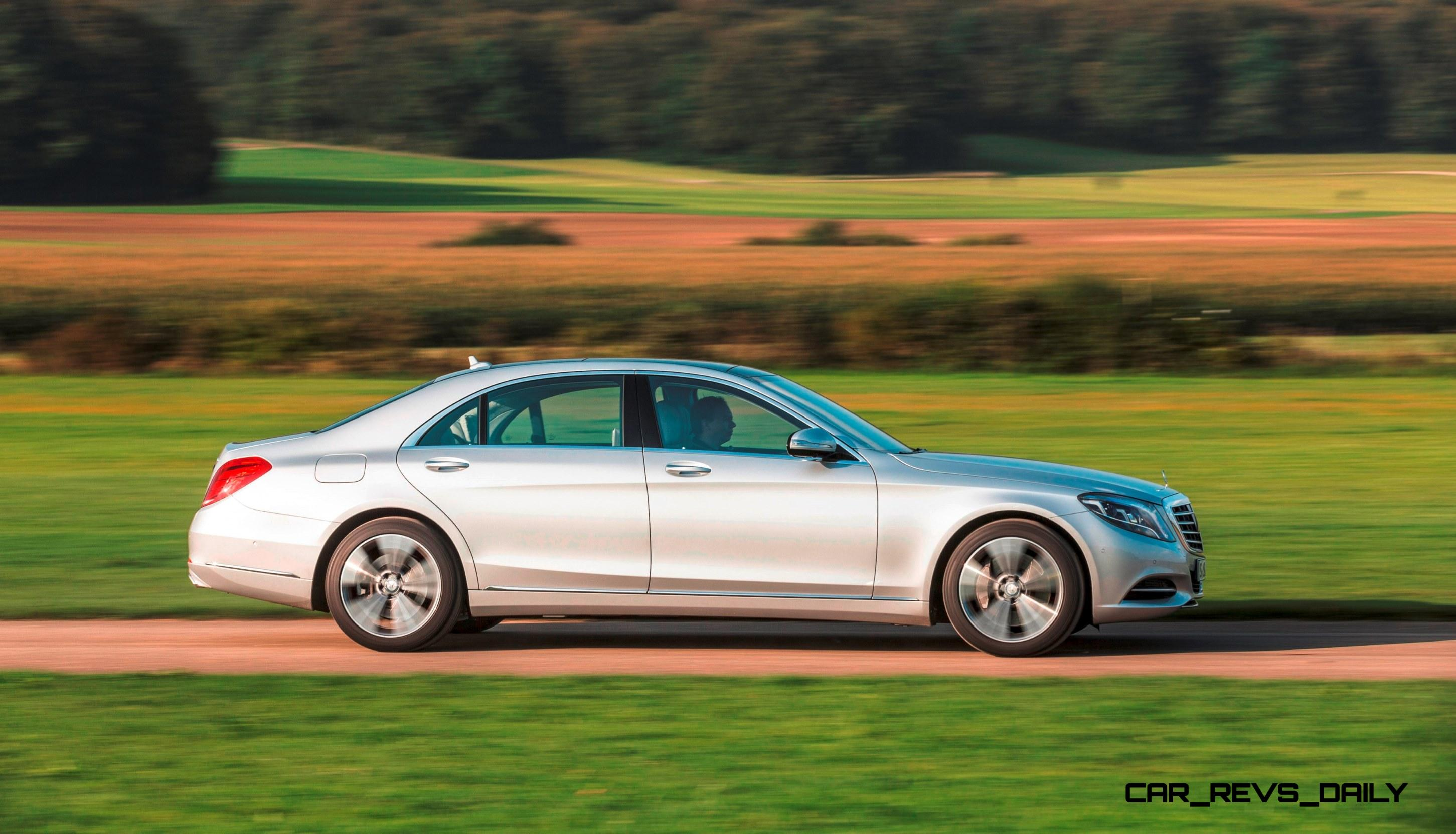 5.0s, 84MPG 2015 Mercedes-Benz S550 Plug-in Hybrid Joins USA S-Class ...