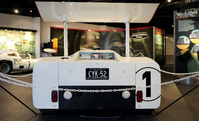 See The Authentic Chaparral 2H and 2J Racecars at the Petroleum Museum in Midland, Texas 11