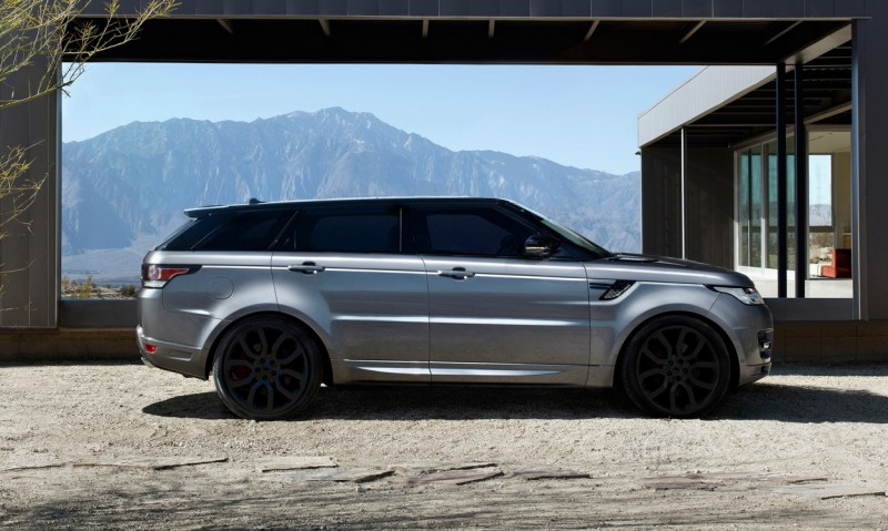 Speculative Renderings - 2017 Range Rover SuperSport With Chop-Top Roofline Overhaul 10