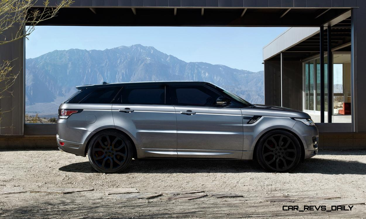 Speculative Renderings 2017 Range Rover SuperSport With Chop Top