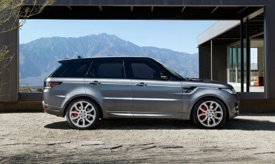 Speculative Renderings - 2017 Range Rover SuperSport With Chop-Top Roofline Overhaul 3