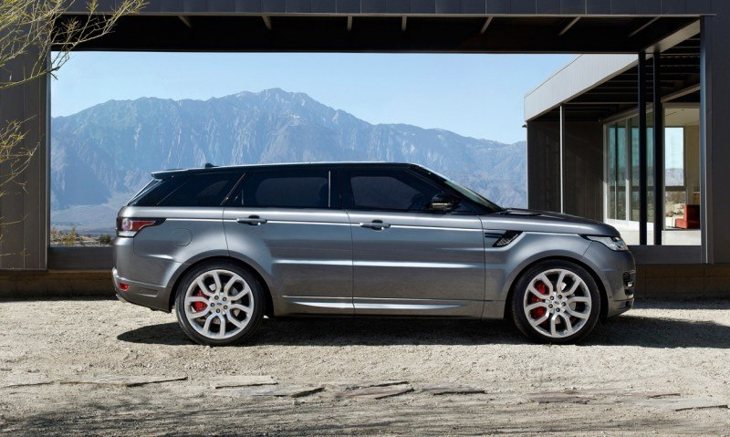 Speculative Renderings - 2017 Range Rover SuperSport With Chop-Top Roofline Overhaul 4