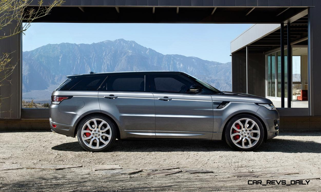 Speculative Renderings - 2017 Range Rover SuperSport With Chop-Top Roofline Overhaul
