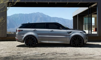 Speculative Renderings - 2017 Range Rover SuperSport With Chop-Top Roofline Overhaul 5