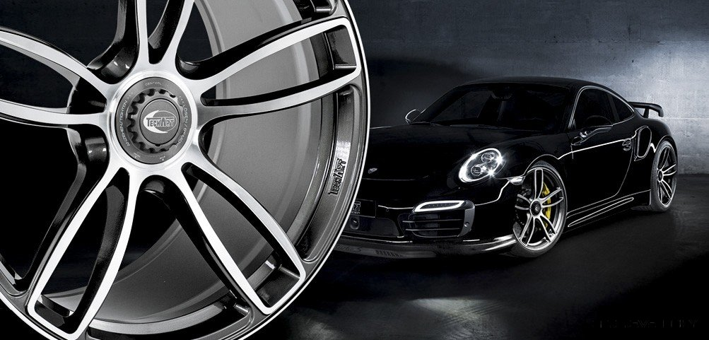 TECHART Launches Race-Ready Centerlock Wheels for Porsche 991 Turbo, Turbo S and GT3
