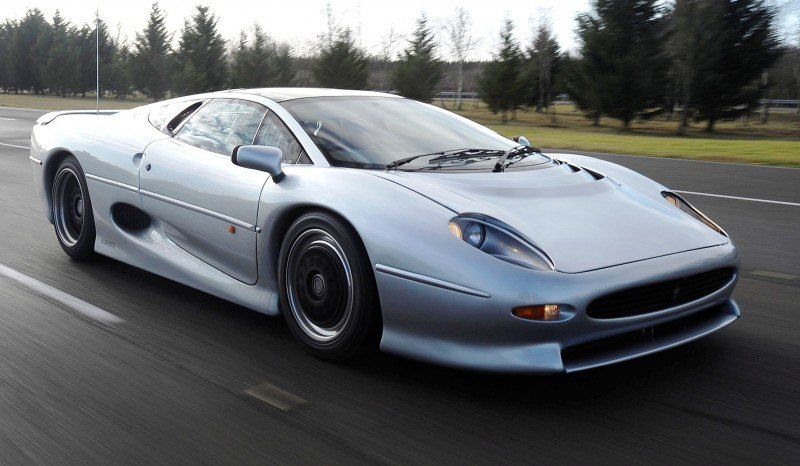 Supercar Icons - 1992 JAGUAR XJ220 Still Enchants the Eye and Mind, 22 Years Later 15