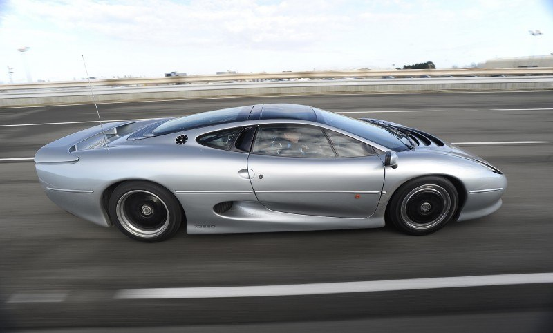 Supercar Icons - 1992 JAGUAR XJ220 Still Enchants the Eye and Mind, 22 Years Later 16