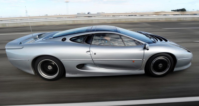 Supercar Icons - 1992 JAGUAR XJ220 Still Enchants the Eye and Mind, 22 Years Later 9