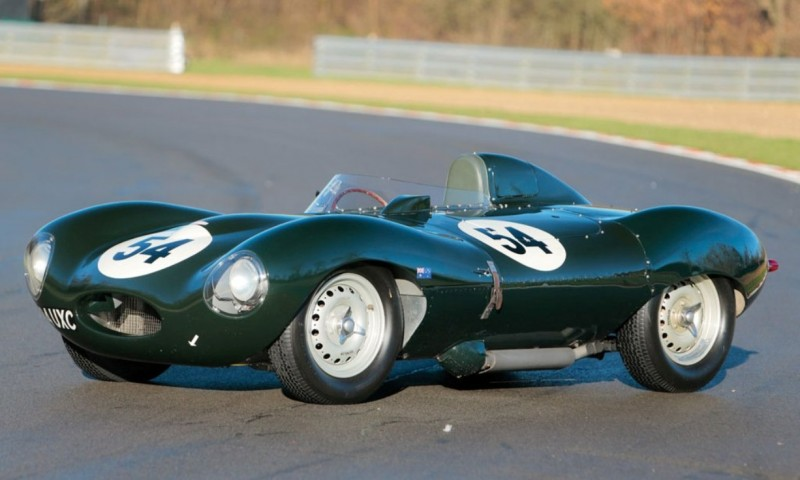 Swoopy 1955 D-type JAGUAR Tops All Comers with $5M Total in Fabulous RM Auctions Paris Gala 1