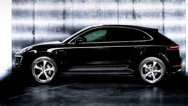 TECHART Releases First Four MACAN Wheels 42