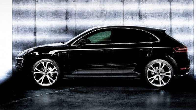 TECHART Releases First Four MACAN Wheels 43