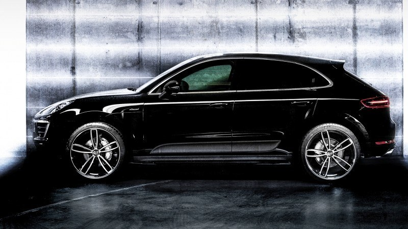 TECHART Releases First Four MACAN Wheels 44