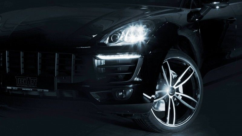 TECHART Releases First Four MACAN Wheels 45