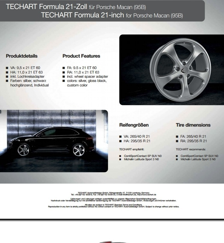 TECHART Releases First Four MACAN Wheels 5