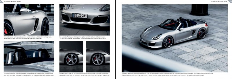 TECHART for Porsche Boxster and Cayman 2