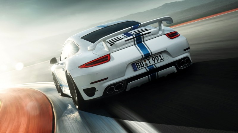 TECHART_for_Porsche_911_Turbo_models_white_rear