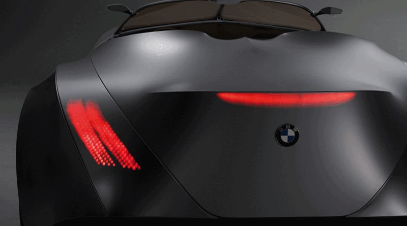 Taillights Animation - 2006 BMW Concept GINA - GIF