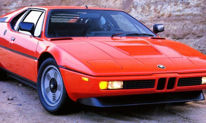 Then and Now - 1980 BMW M1 versus 2008 BMW M1 Hommage 11