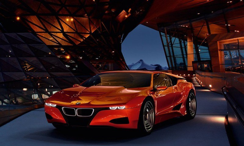 Then and Now - 1980 BMW M1 versus 2008 BMW M1 Hommage 15