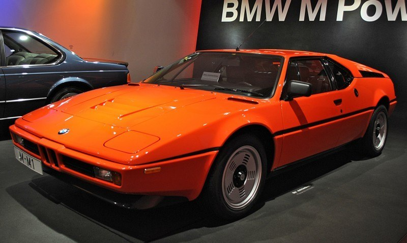 Then and Now - 1980 BMW M1 versus 2008 BMW M1 Hommage 17