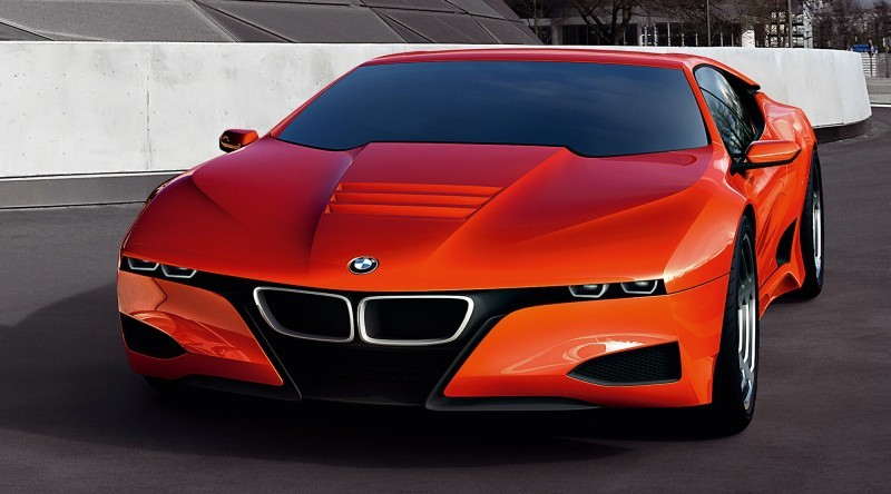 Then and Now - 1980 BMW M1 versus 2008 BMW M1 Hommage 18