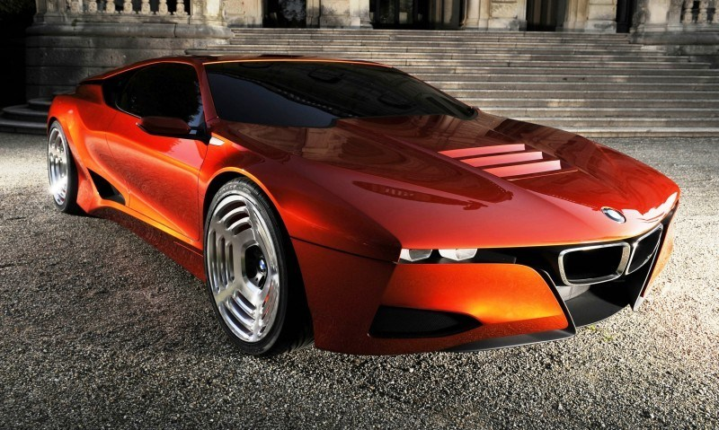 Then and Now - 1980 BMW M1 versus 2008 BMW M1 Hommage 9