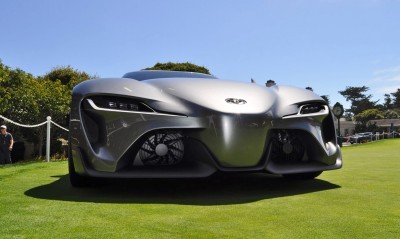Top 10 SUPRA-Tastic Design Details - Toyota FT-1 Concept + 88 NEW Photos
