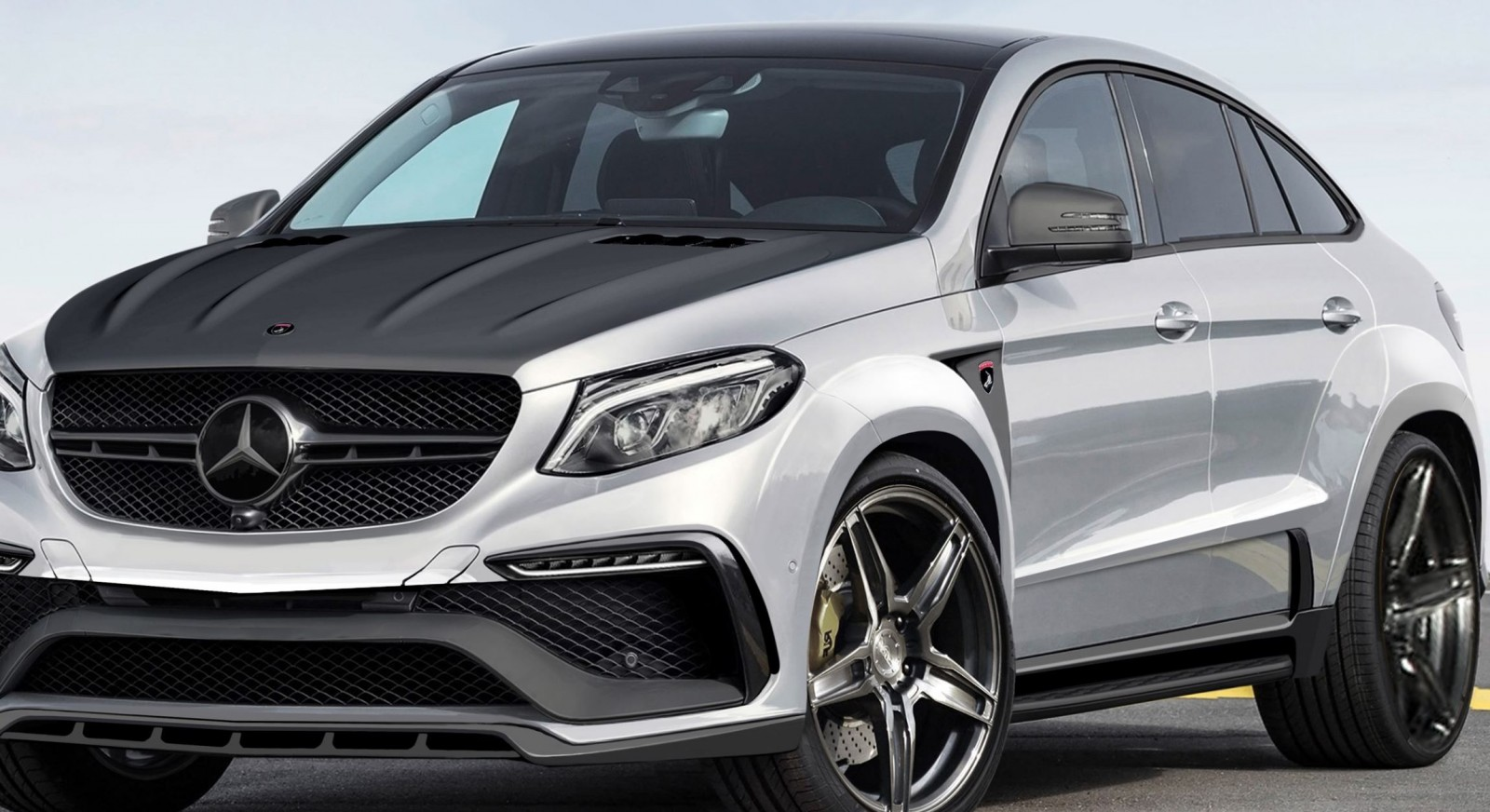 Exclusive topcar teases new mercedes amg gle inferno coupe for Mercedes benz gle coupe price