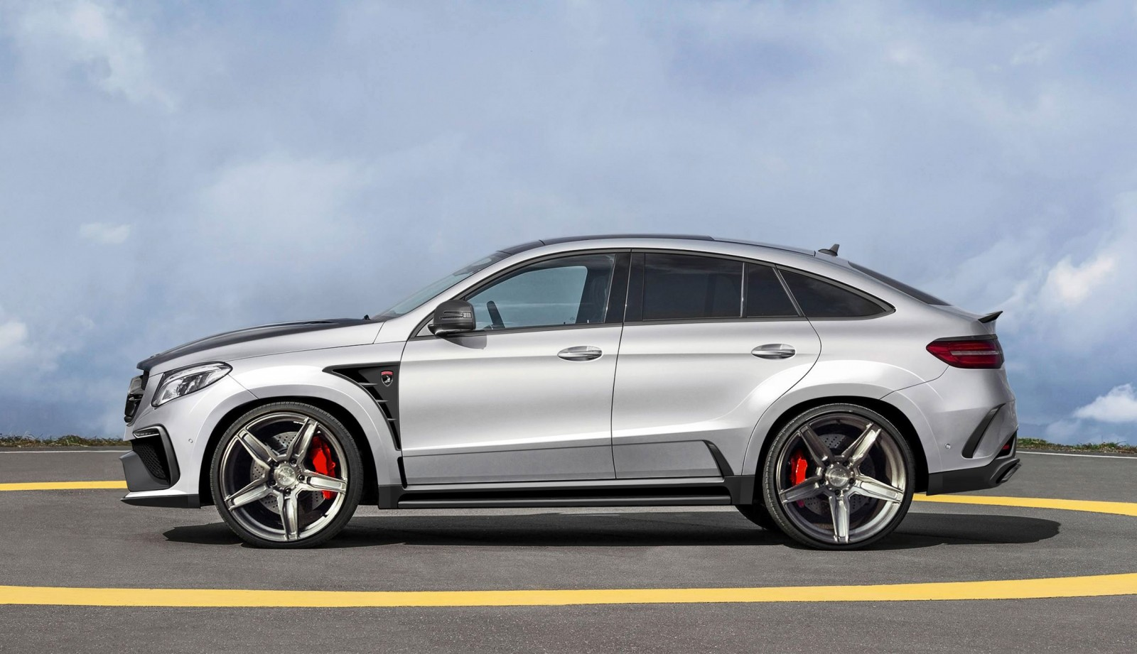 Exclusive topcar teases new mercedes amg gle inferno coupe for Mercedes benz tires cost