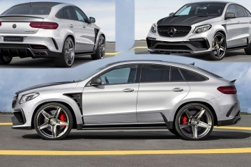 Exclusive! TopCar Teases New Mercedes-AMG GLE Inferno Coupe