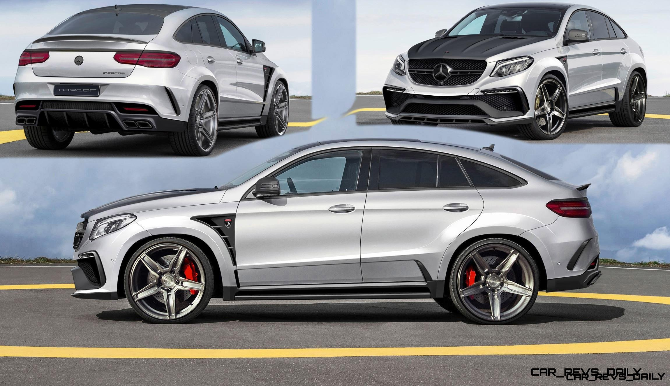 exclusive topcar teases new mercedes amg gle inferno coupe. Black Bedroom Furniture Sets. Home Design Ideas