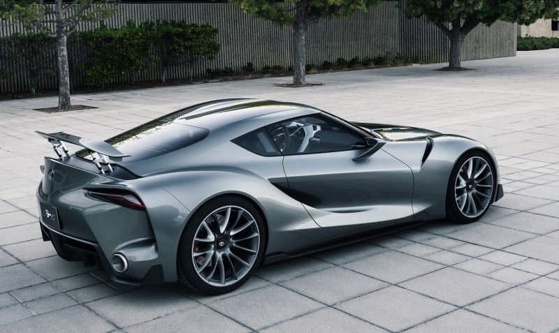 Toyota FT-1 Version Two Brings Sexy Gloss Grey, Aero Tweaks and Near-Production Cabin 1