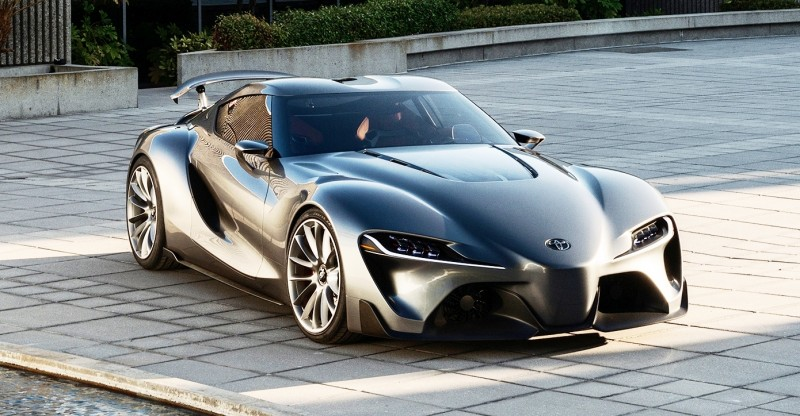 Toyota FT-1 Version Two Brings Sexy Gloss Grey, Aero Tweaks and ...
