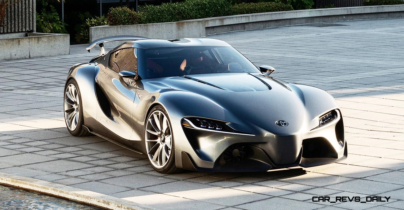 toyota ft 1 concept version two world debut at pebble beach in 99 high res photos. Black Bedroom Furniture Sets. Home Design Ideas