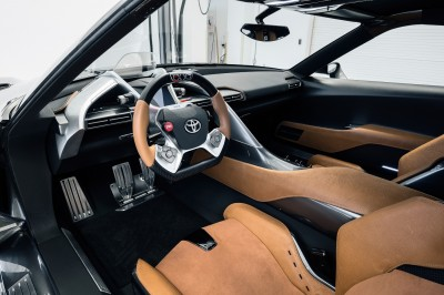 Toyota FT-1 Version Two Brings Sexy Gloss Grey, Aero Tweaks and Near-Production Cabin 13